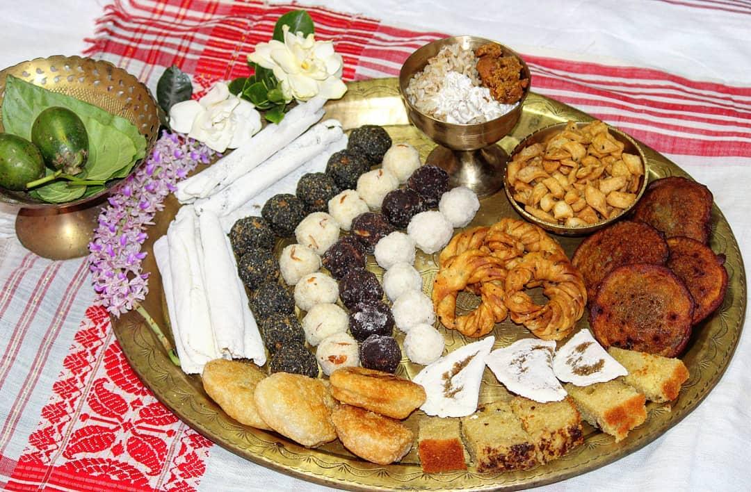Bihu delicacies Assam