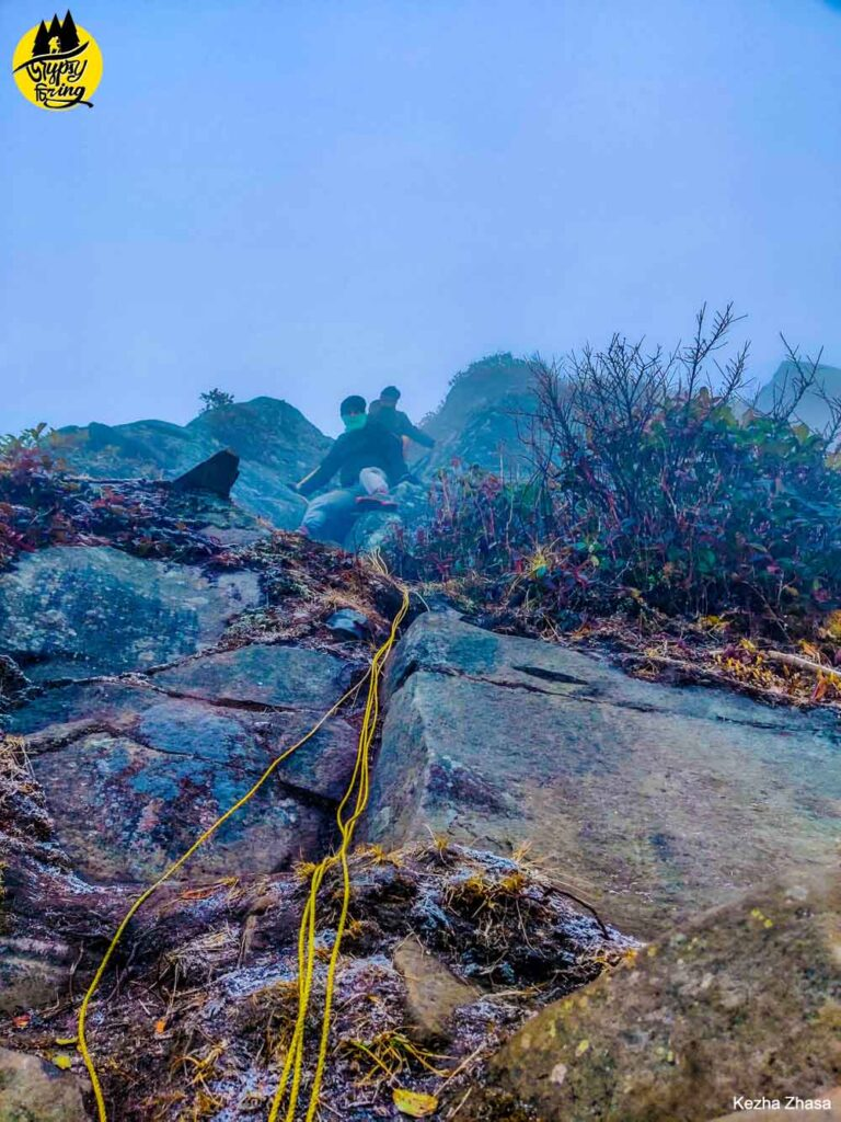 How to reach Japfu peak