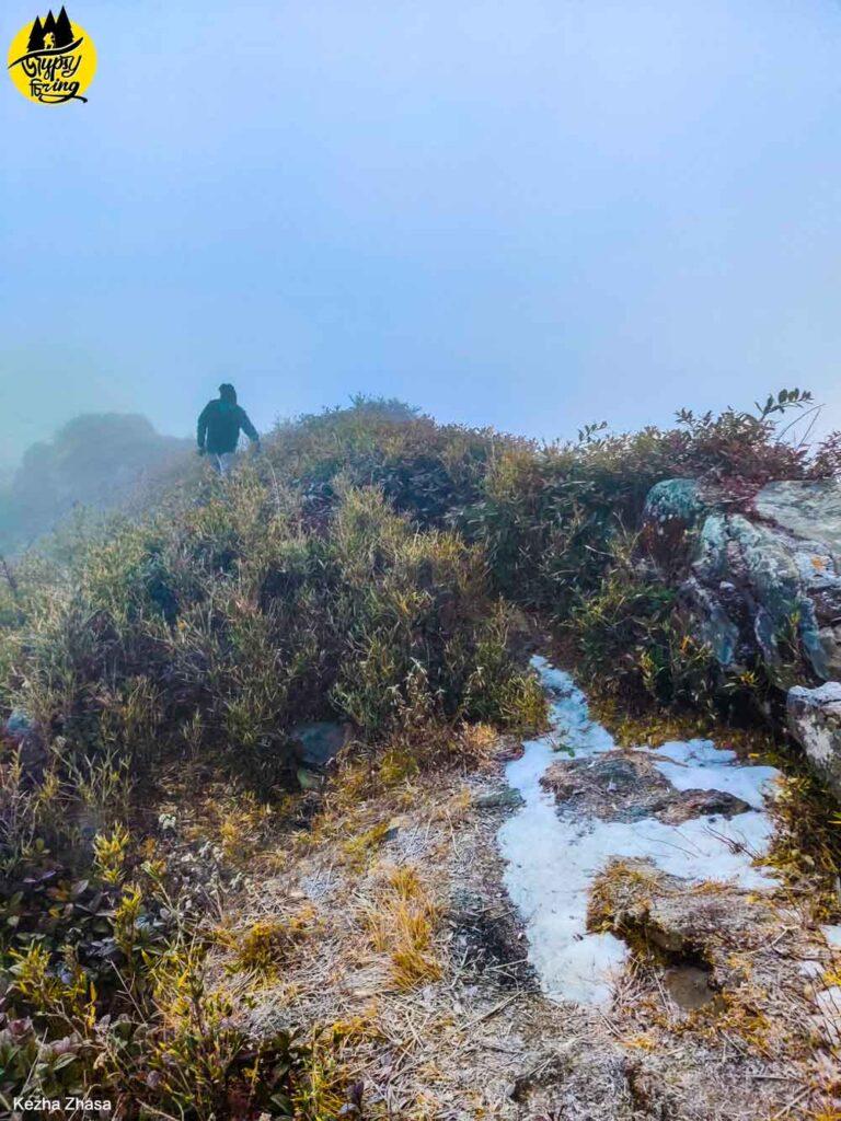 Japhu peak, Mount Japfu Snow