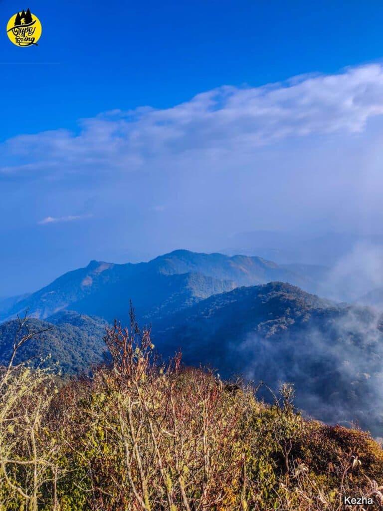 Mt. Japfu Range in Nagaland
