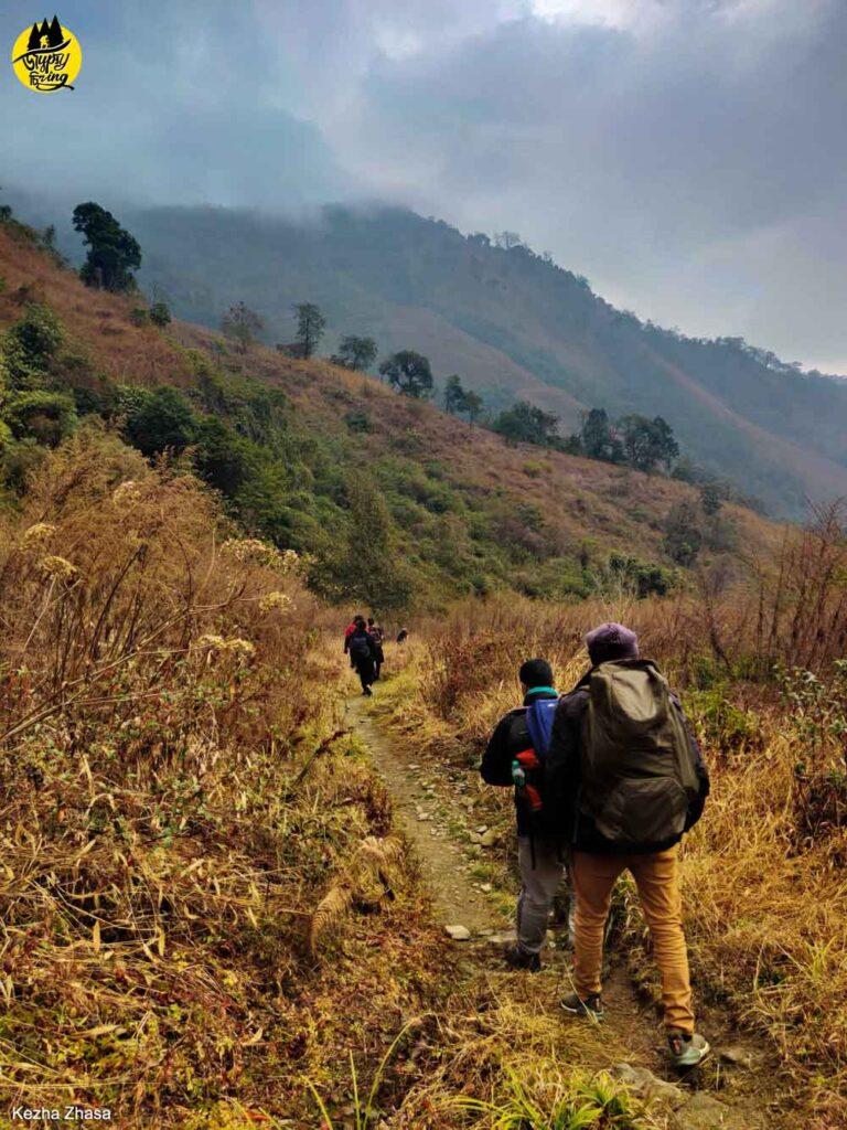 Mt. Japfu trekking trail