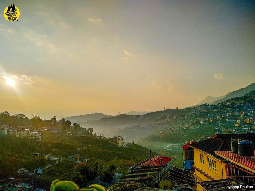 Kohima Town Sunrise, Nagaland