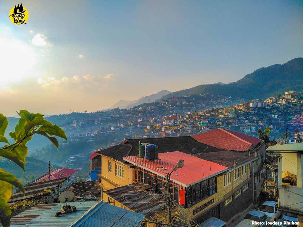 Kohima town, Nagaland.