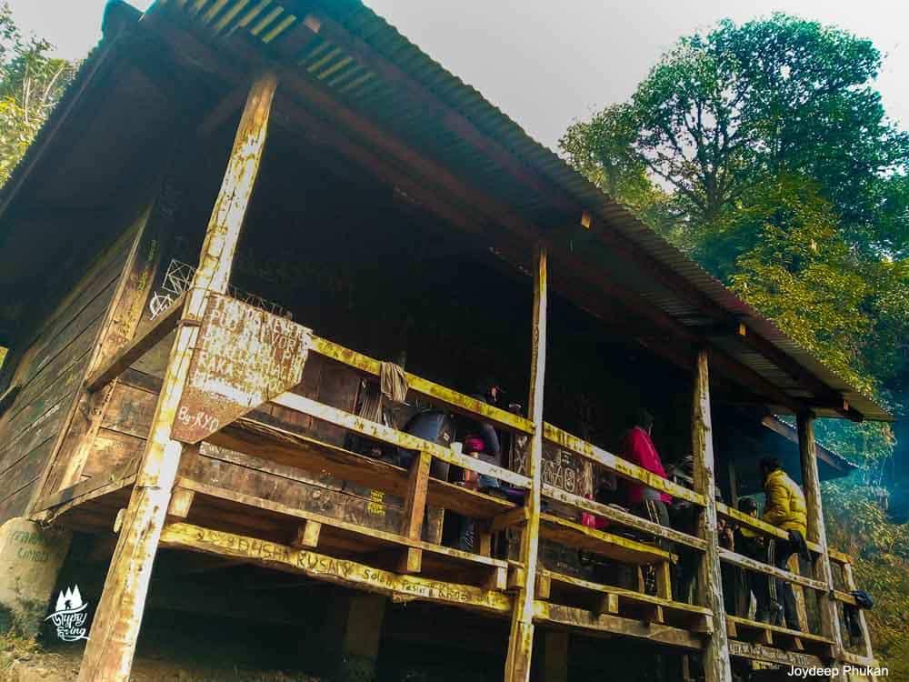 Mount Japfu Base Camp, Nagaland.