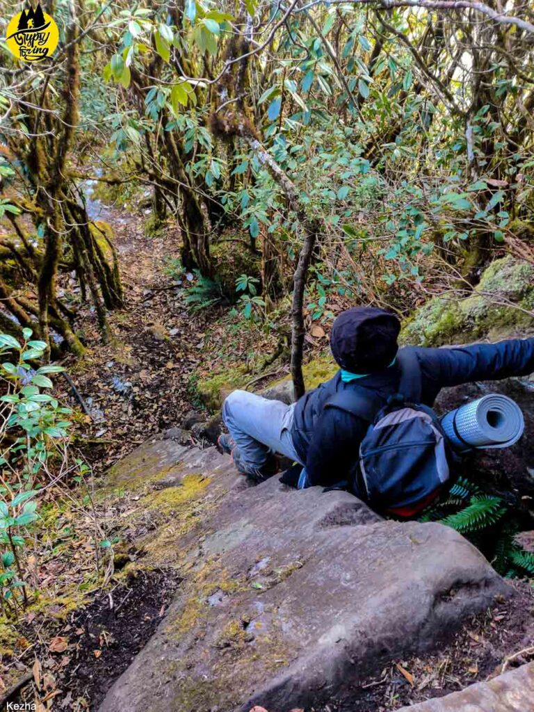 Rock Climbing in Mt Japfu